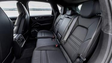 Porsche Cayenne E-Hybrid - rear seats