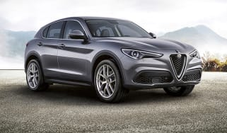 Alfa Romeo Stelvio First Edition front quarter