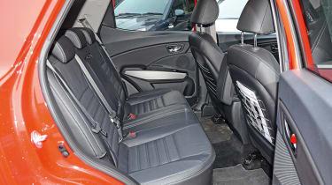 SsangYong Tivoli - rear seats