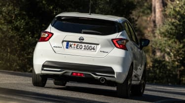 Nissan Micra N Sport - rear action