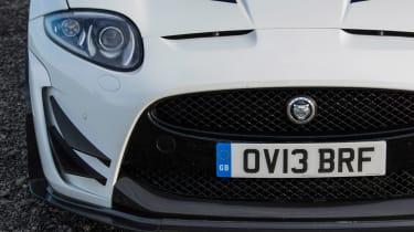 Jaguar XKR-S GT coupe grille