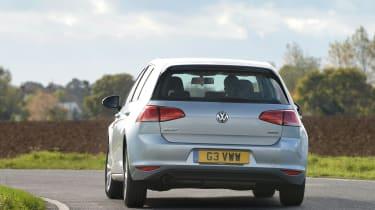 Volkswagen Golf 1.0 BlueMotion DSG rear cornering