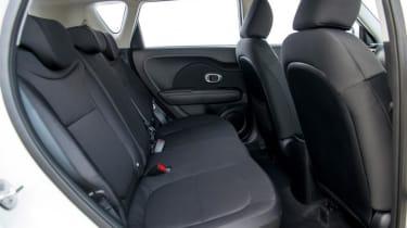 Used Kia Soul - rear seats