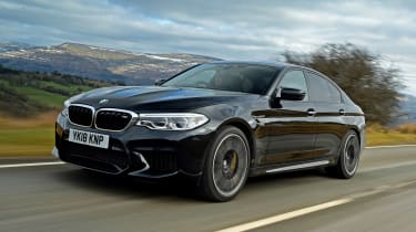 BMW M5 - front