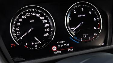 2018 BMW X2 - speedo