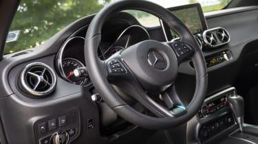 Mercedes X-Class - steering wheel