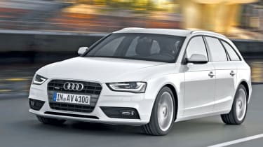 Audi A4 Avant front tracking