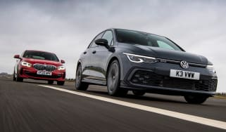 VW Golf GTD vs BMW 120d - main