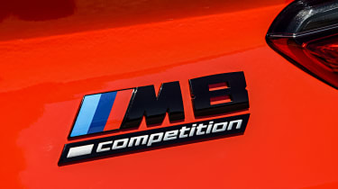 BMW M8 - M8 badge