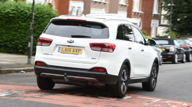 Kia Sorento long-termer - rear