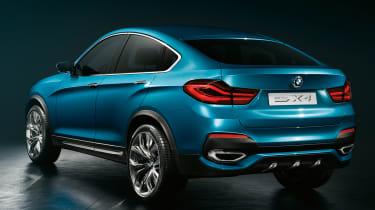 BMW Concept X4 rear three-quarters