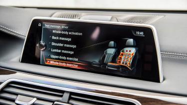 New BMW 7 Series 2015 screen