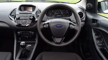 Ford Ka+ White Edition - dash