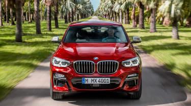 BMW X4 - full front