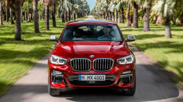 BMW X4 - full front