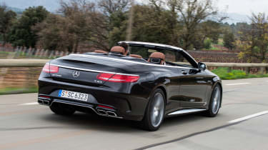 Mercedes-AMG S 63 Cabriolet 2016 - rear tracking