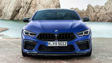 BMW M8 Competition - full front static