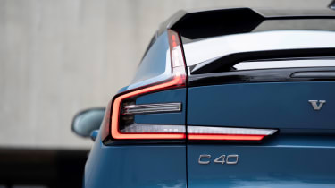 Volvo C40 Recharge - C40 badge