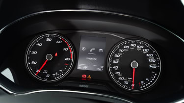 SEAT Ibiza - speedo