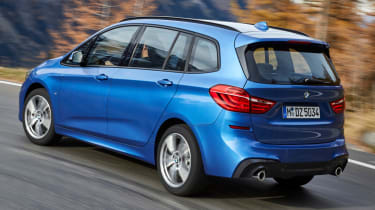 BMW 2 Series Active Tourer blue rear