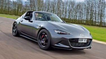 Mazda MX-5 BBR GTi Turbo - front action