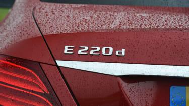 Mercedes E-Class E 220d AMG Line 2017 - badge