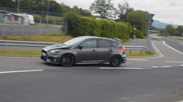 Ford Focus RS500 mule side