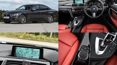 BMW iDrive infotainment system - test car: BME 3 Series