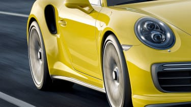 New 2016 Porsche 911 Turbo S detail
