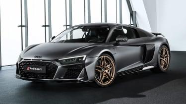 Audi R8 V10 Decennium - front static