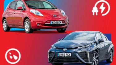 Electric vs Hydrogen header