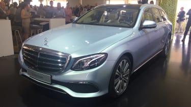 Mercedes E-Class Estate - reveal front