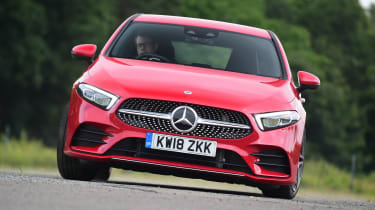 Mercedes A-Class - front cornering