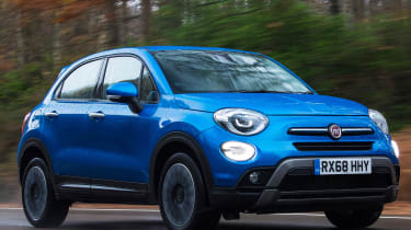 fiat 500x tracking front