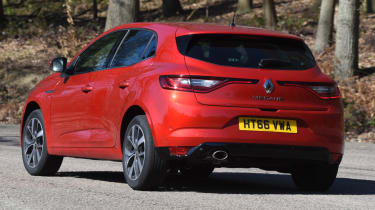 Renault Megane long term test - action rear