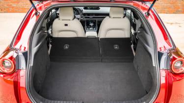 Mazda MX-30 - boot seats down