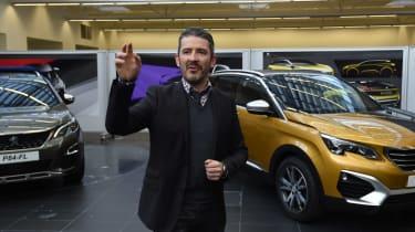 Peugeot 3008 design centre Gilles Vidal