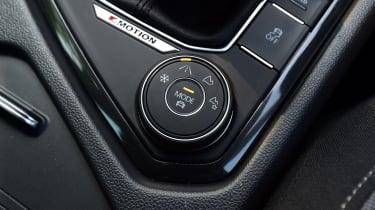 VW Tiguan - buttons