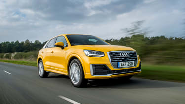 Audi Q2 - front tracking