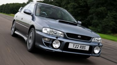 Subaru Impreza WRX STI front quarter