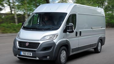 Fiat Ducato 2014 front action