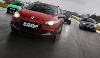 Renault Megane Sport Tourer front tracking