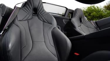 BMW Z4 M40i - seat detail