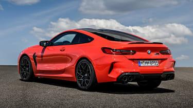 BMW M8 - rear static