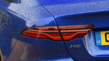 Jaguar XE - rear lights
