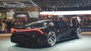 Bugatti La Voiture Noire - Geneva rear