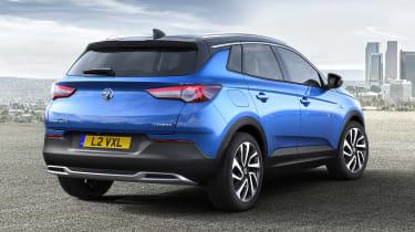 Vauxhall Grandland X - rear static