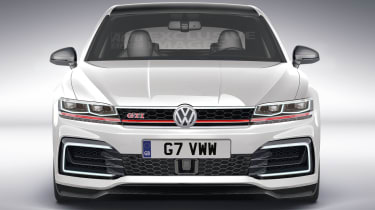 Mk8 Golf GTI rendering - nose