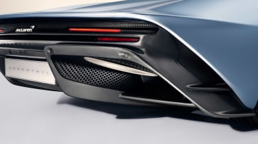 McLaren Speedtail - rear profile