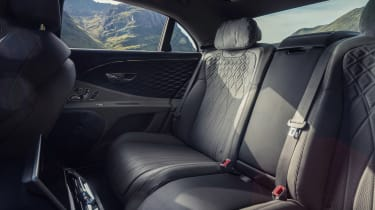 Bentley Flying Spur V8 - rear seats